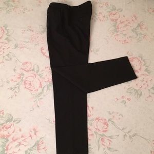 THEORY (NWOT) Black Wool/Elastane Slimming Trouser